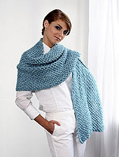 shawl front